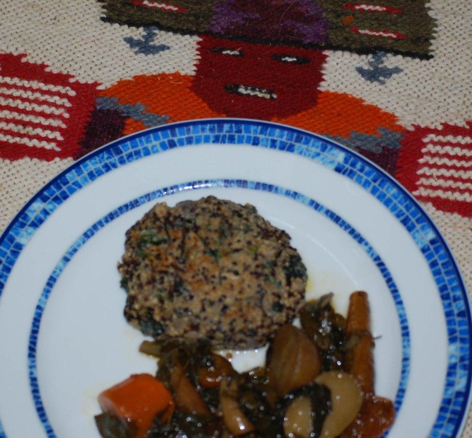 Quinoa Amaranth VeggieBurgers
